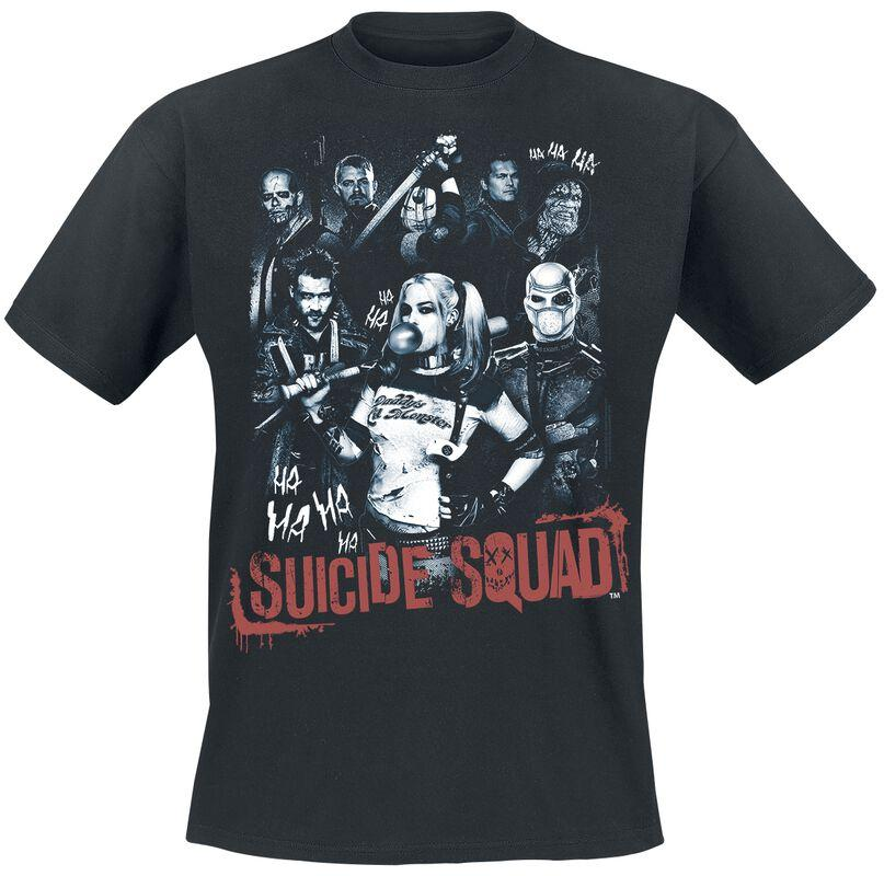 Tshirt suicide squad harley quinn