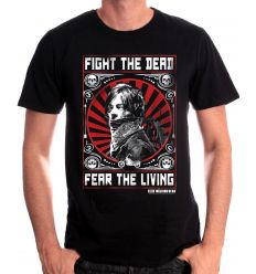 Tshirt the walking dead daryl fight the dead