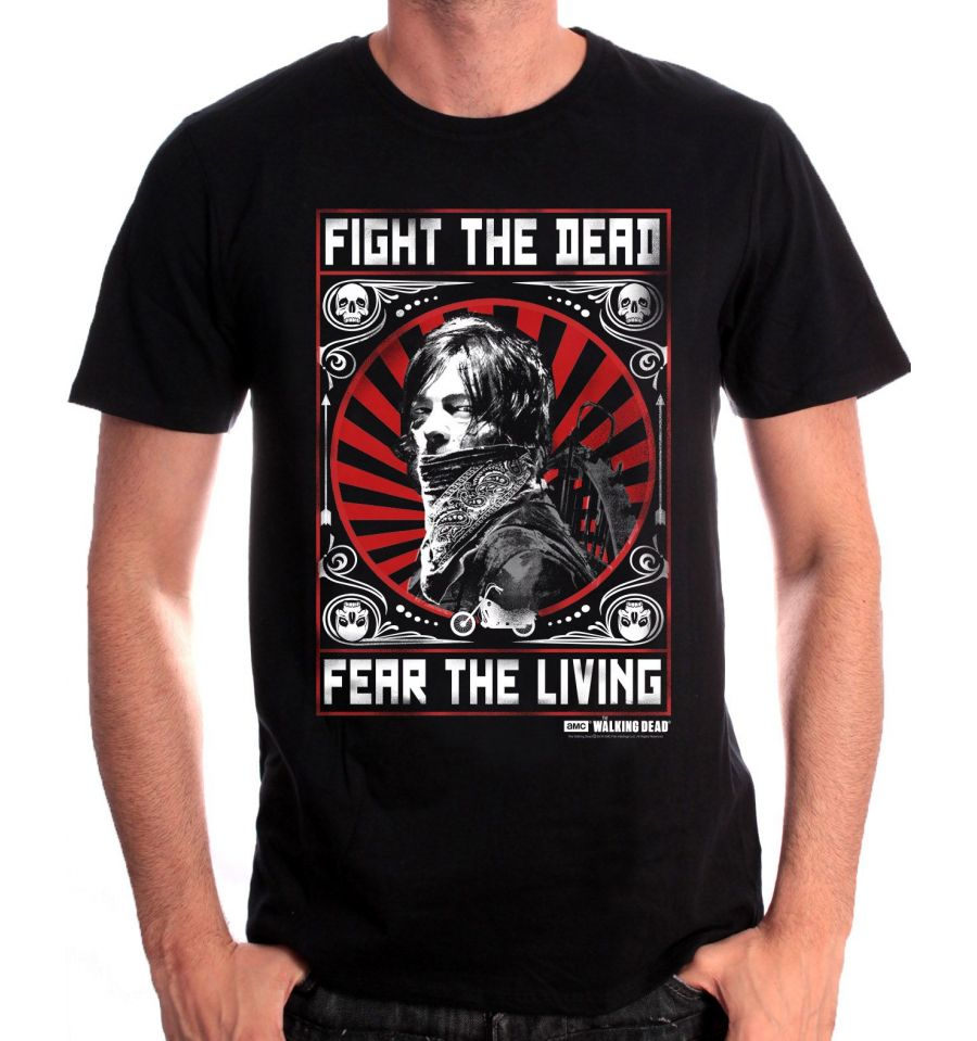 Tshirt the walking dead daryl