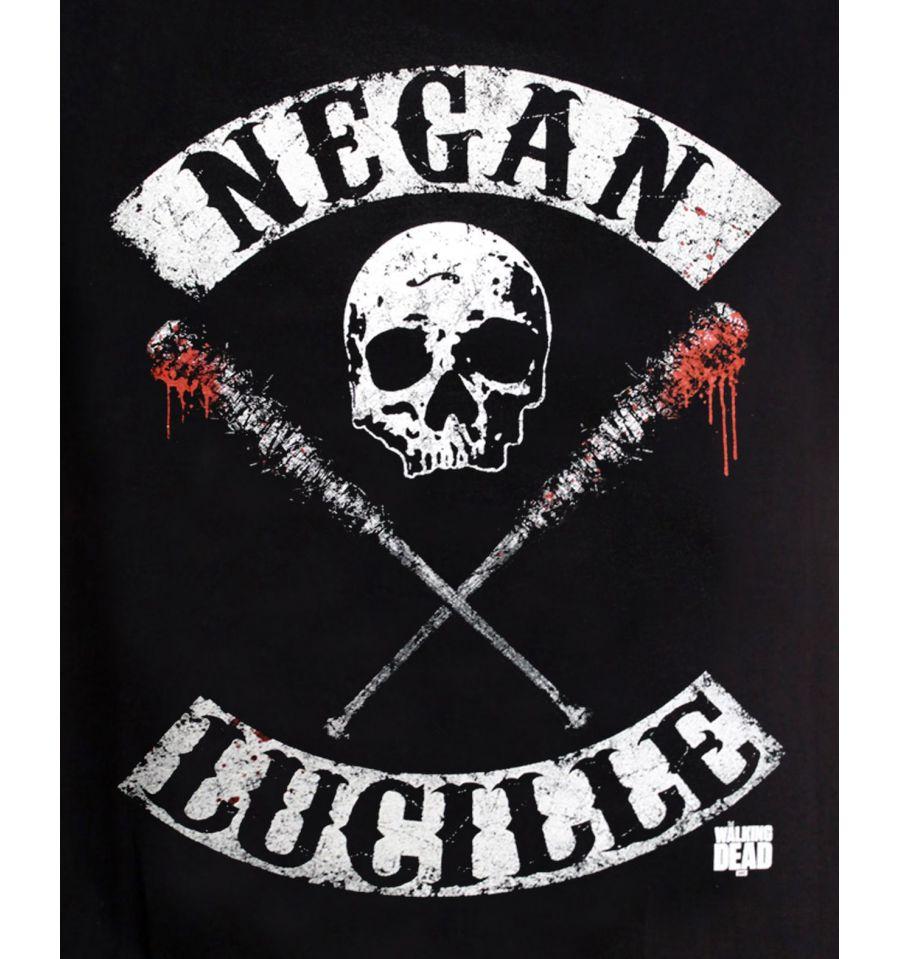 Tshirt the walking dead negan lucille rocker
