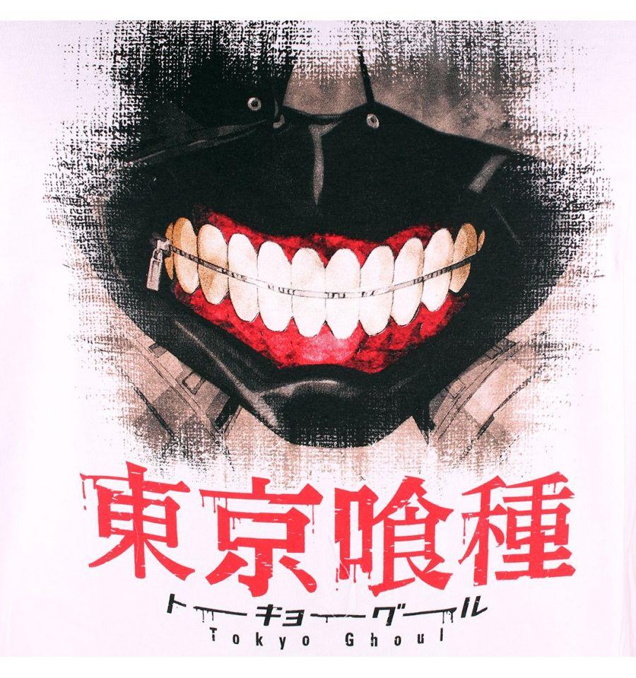 Tshirt tokyo ghoul blanc