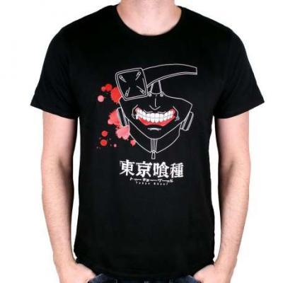 Tshirt tokyo ghoul kaneki mask