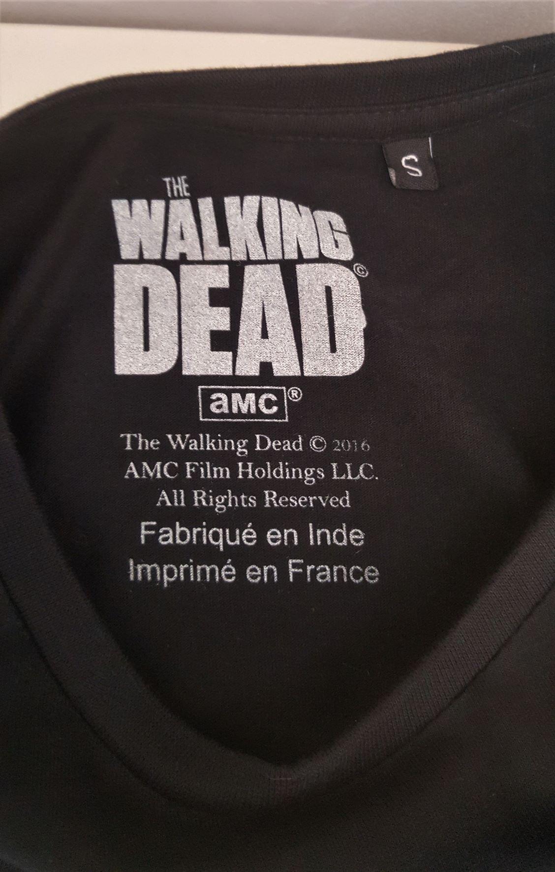 Tshirt walking dead 2