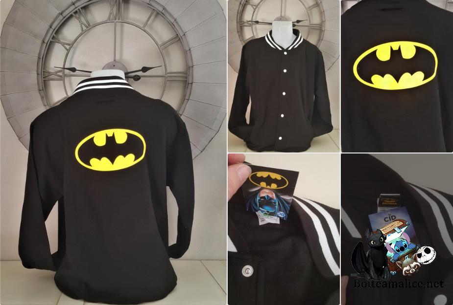 Veste batman dc comics