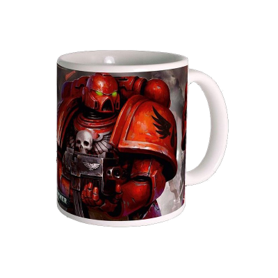 Warhammer 40k mug blood angels space marines