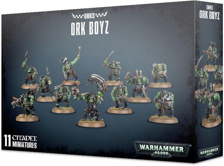 Warhammer 40k orks boyz