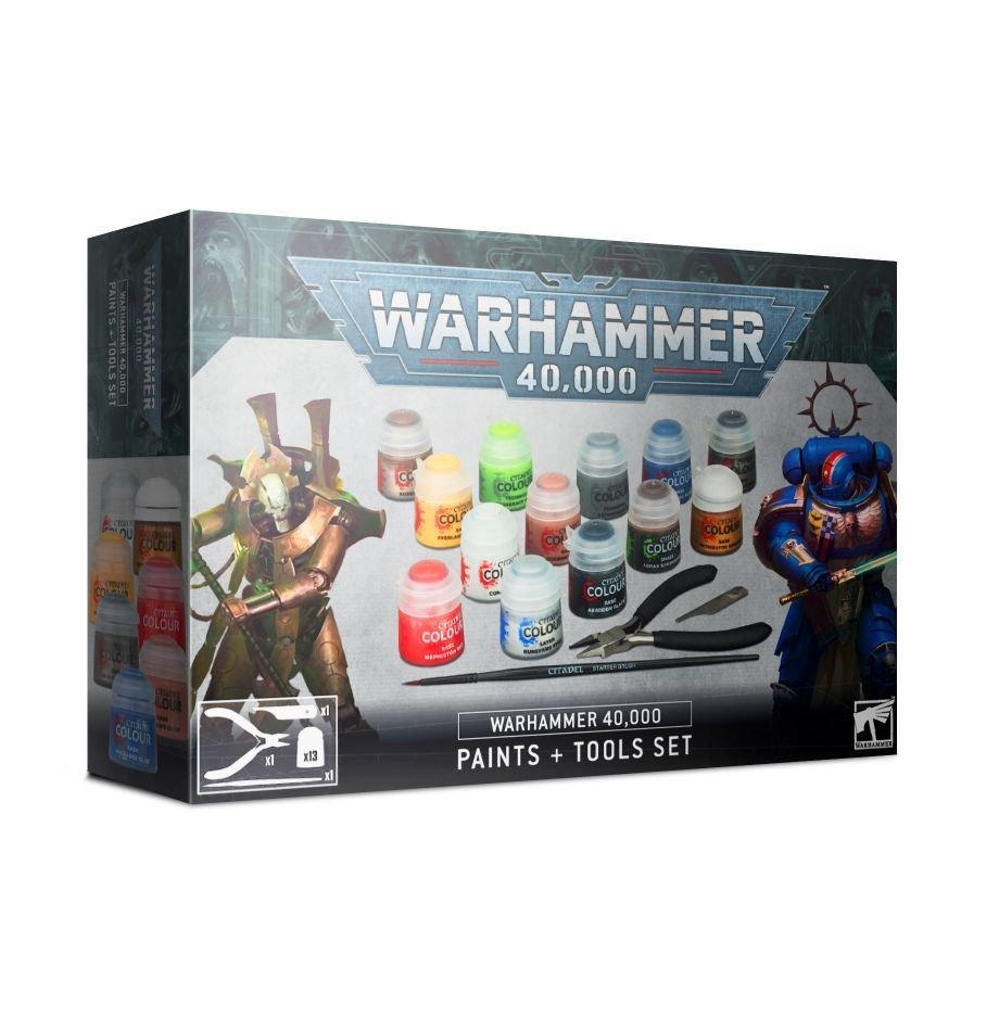 Warhammer 40k paints tools 2