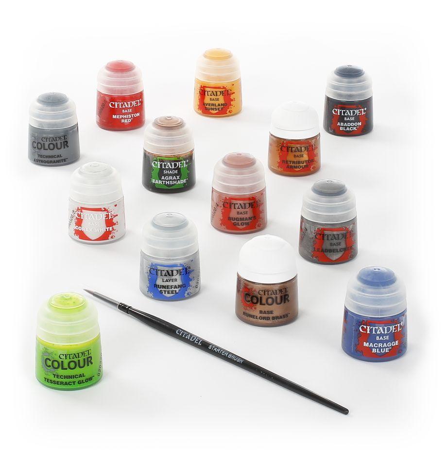 Warhammer 40k paints tools 3