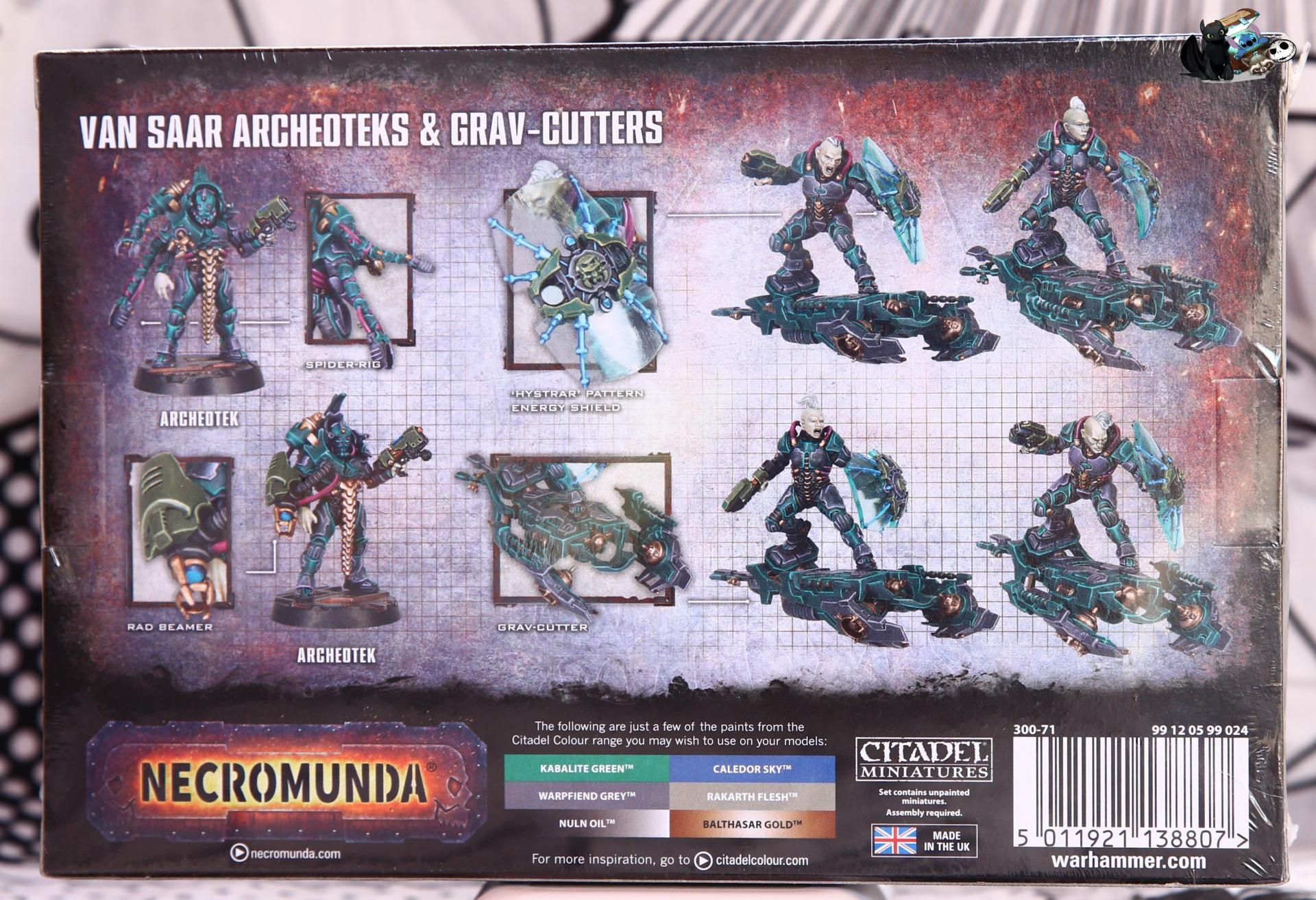 Warhammer necromunda van saar archeoteks grav cutters 1
