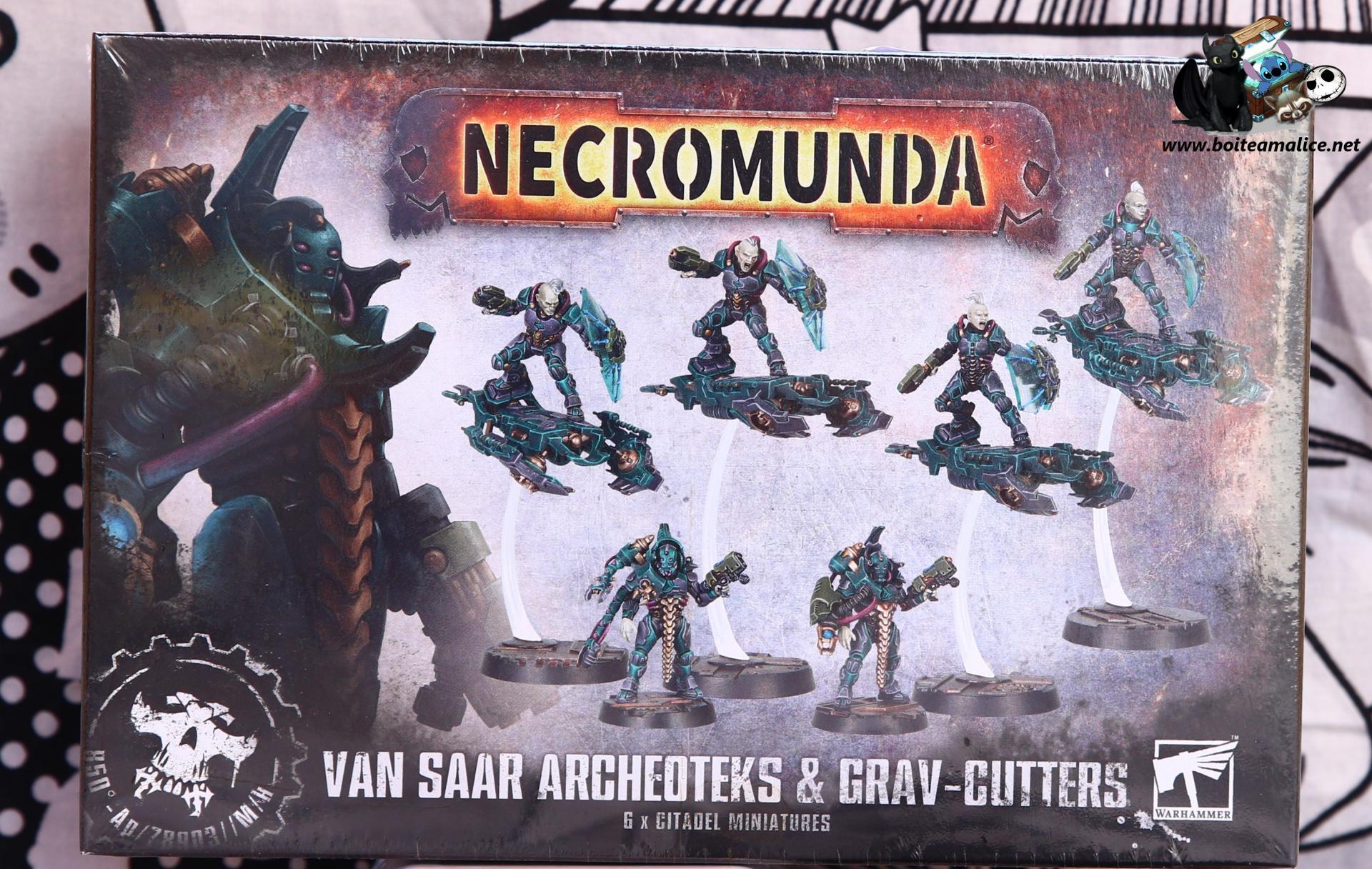 Warhammer necromunda van saar archeoteks grav cutters
