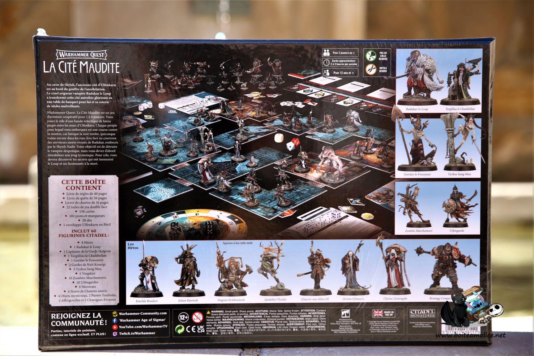 Warhammer quest la cite maudite 2