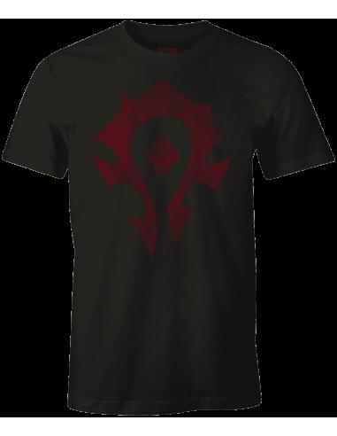 World of warcraft t shirt cracked horde